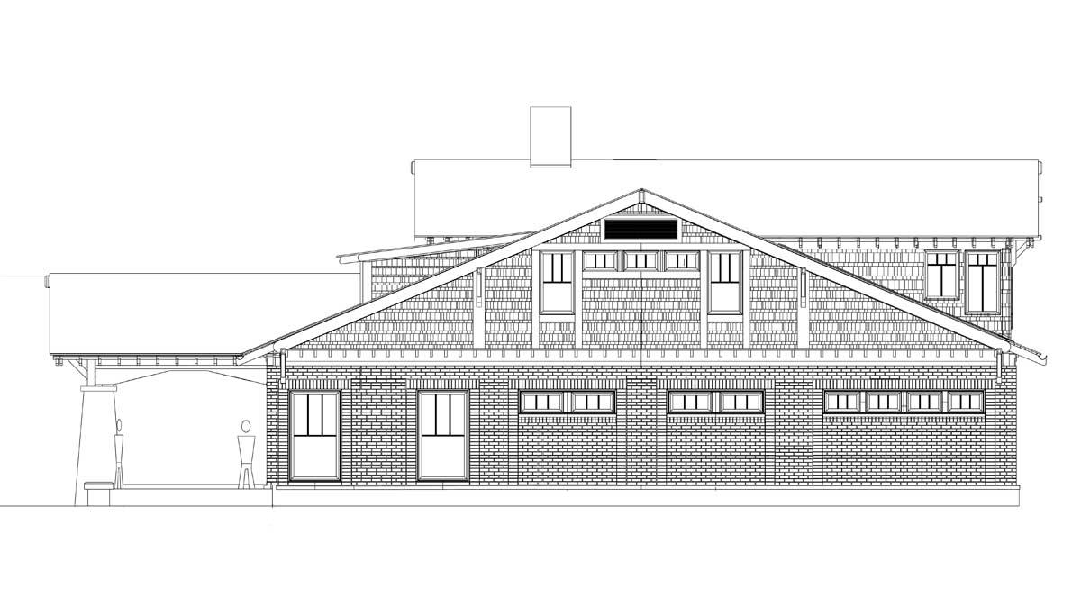 East Elevation Plan : House plans the brown construction progress