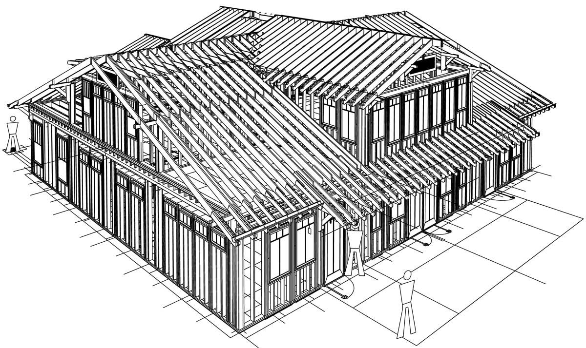 House framing plans home design and style for House roof construction