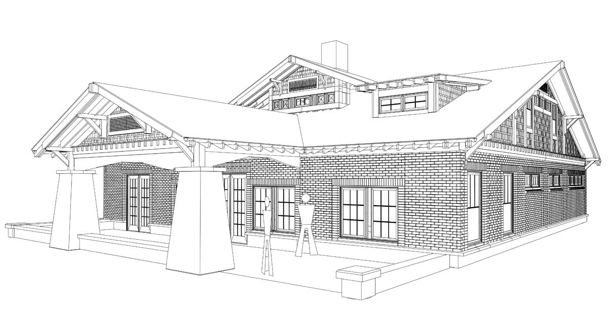 elevation rear elevation west elevation framing view from northeast ...